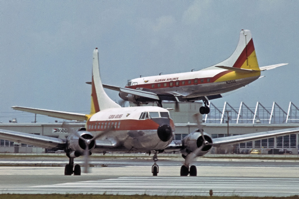 Florida Airlines Martin 404 N259S and N144S