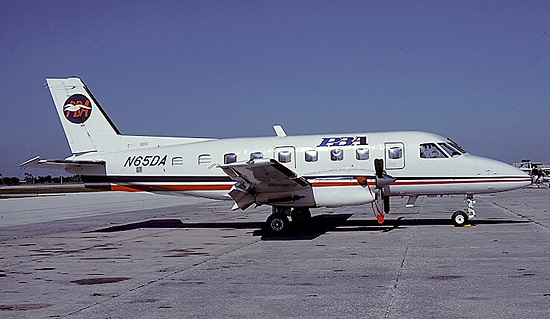N65DA (msn 385), was one of the many assets PBA purchased after the shutdown of Dolphin Airlines.