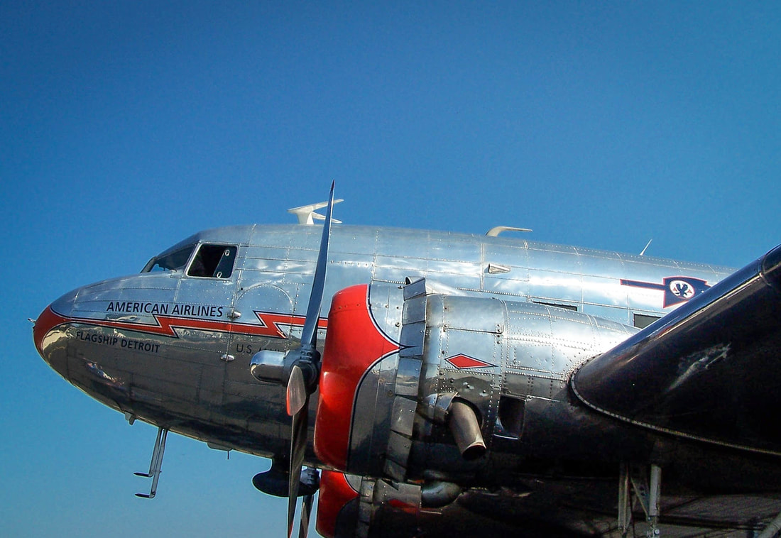 Flagship Detroit DC-3 at Collegedale