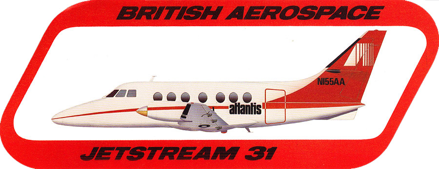Atlantis Airlines Jetstream 31