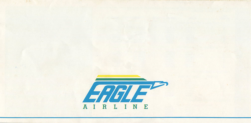 Eagle Airline timetable