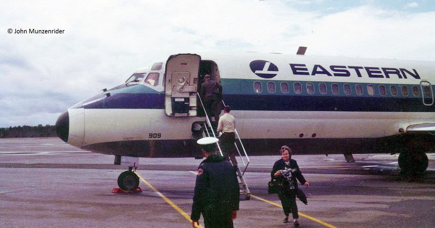 Eastern Airlines DC-9 at Macon