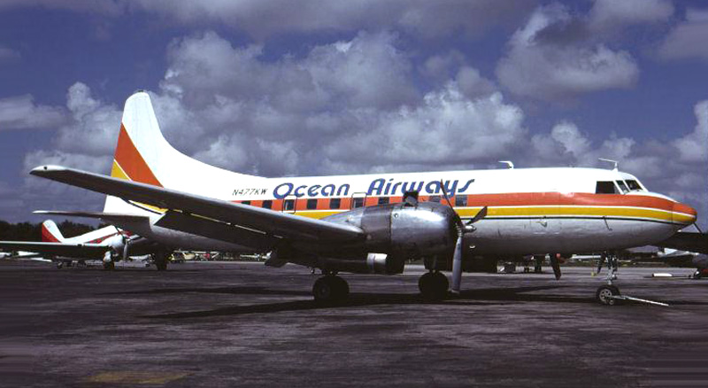 Ocean Airways Convair 440 N477KW