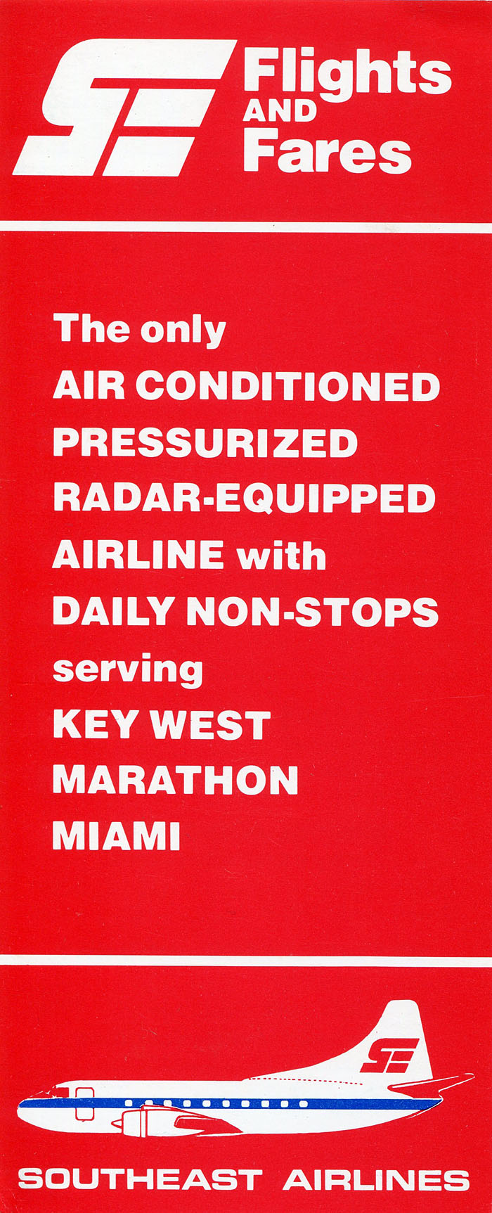 Southeast Airlines timetable